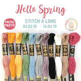 Hello Spring Stitch-A-Long (SAL) 2019