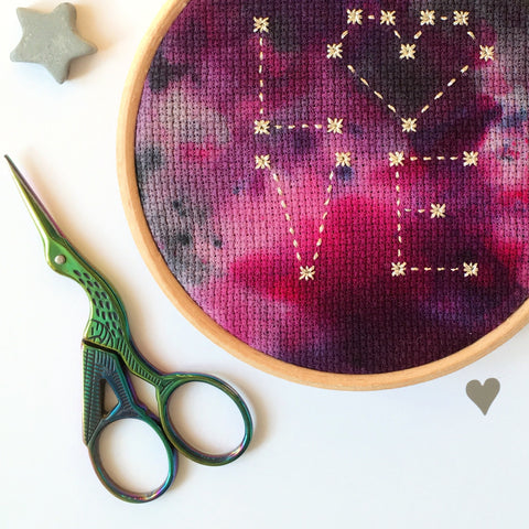 Mermaid Embroidery Scissors