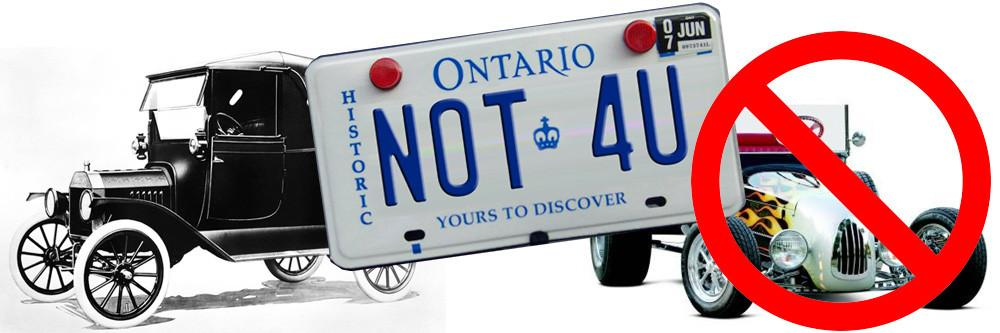 Warning! Are Your Ontario Licence Plates Illegal?