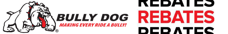 REBATE - Bully Dog Sleigh the Holiday Promotion