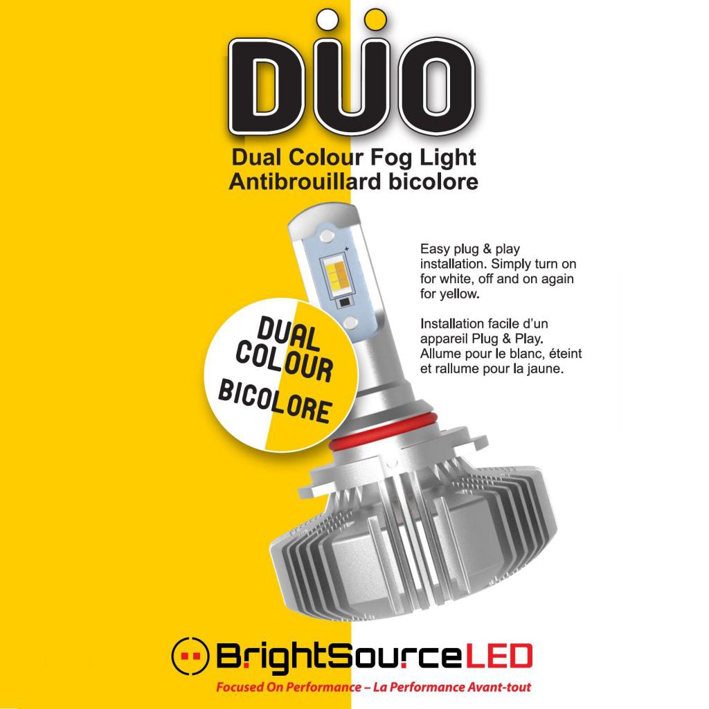 DUO – DUAL COLOUR LED FOG LIGHT BULBS