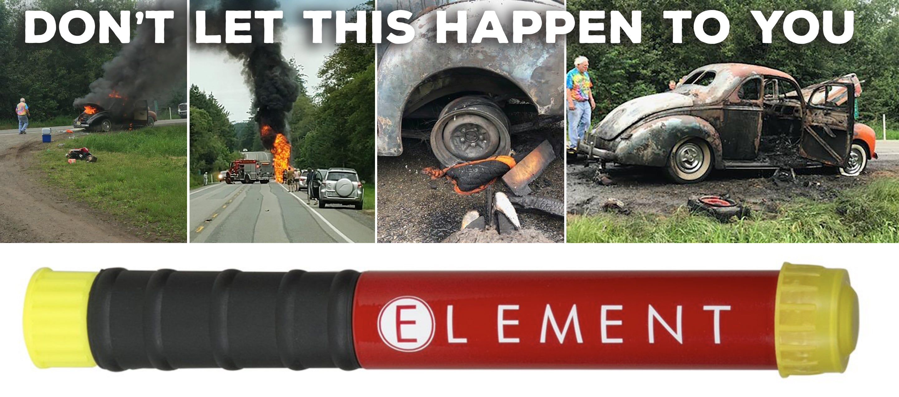 PERFORMANCE IMPROVEMENTS IS YOUR CANADIAN SOURCE FOR ELEMENT FIRE EXTINGUISHERS