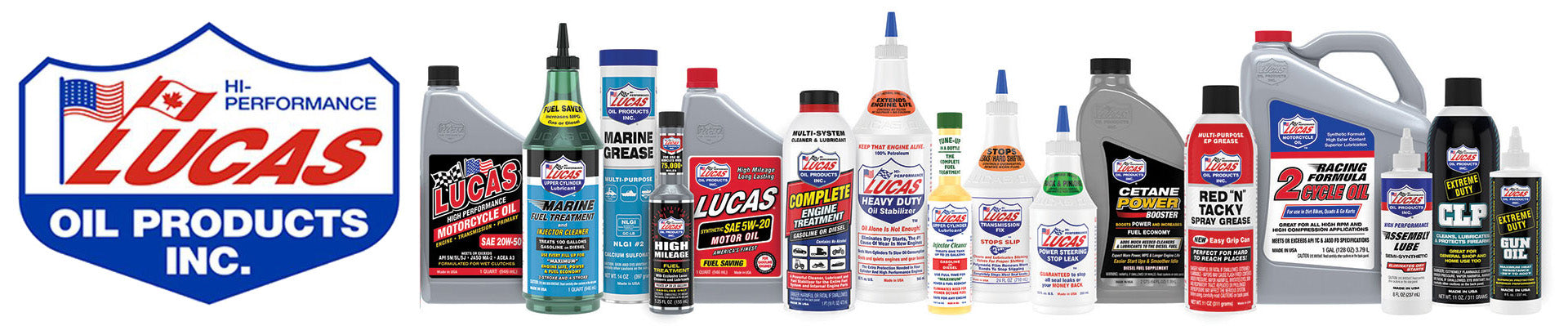 LUCAS OIL PRODUCTS CANADA FAQs
