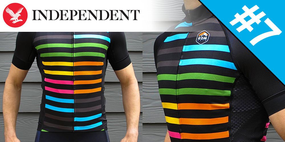 KOMRAID Jammer Jersey The Independent IndyBest List