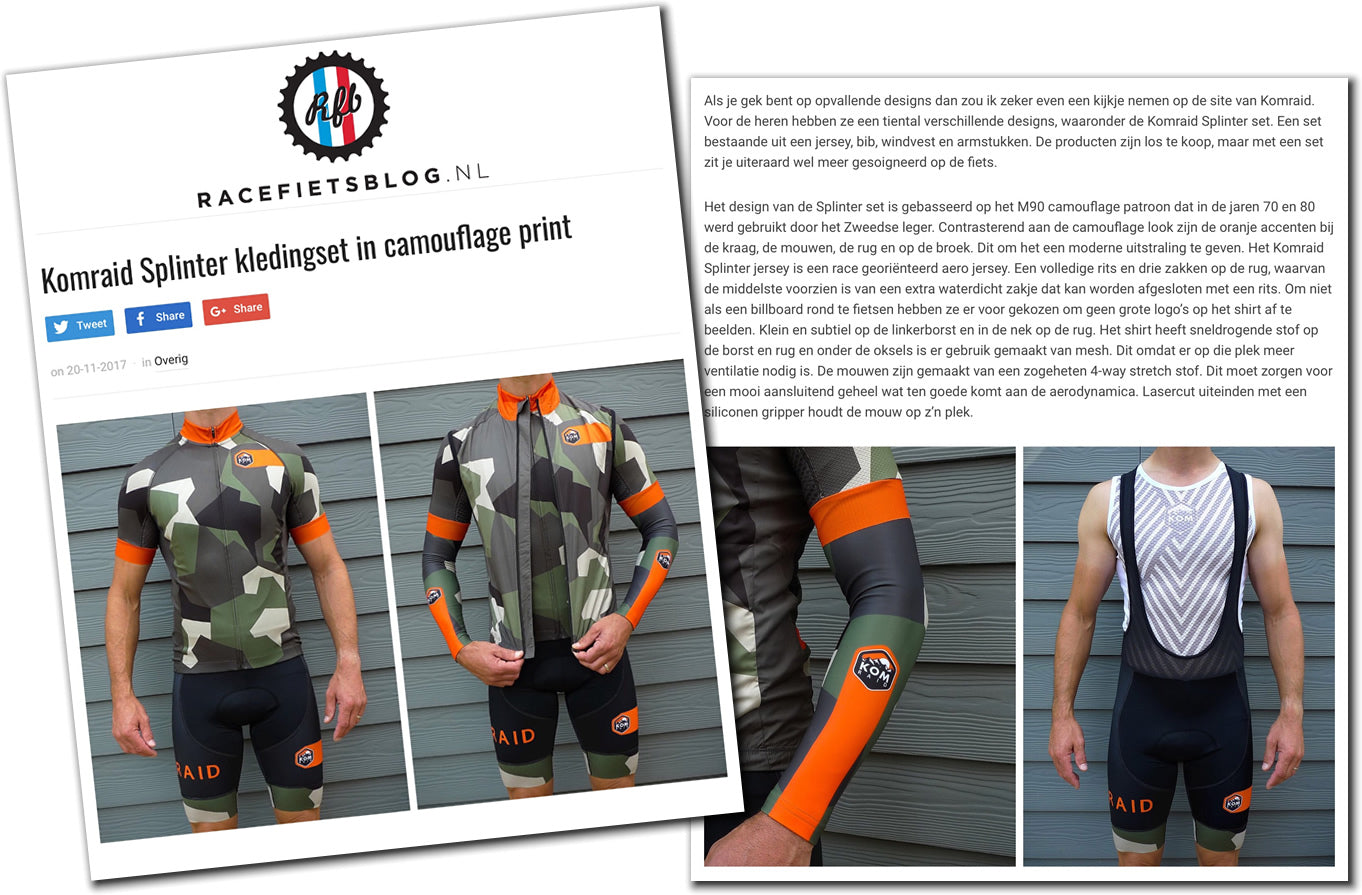 racefietsblog.nl Splinter Kit product review