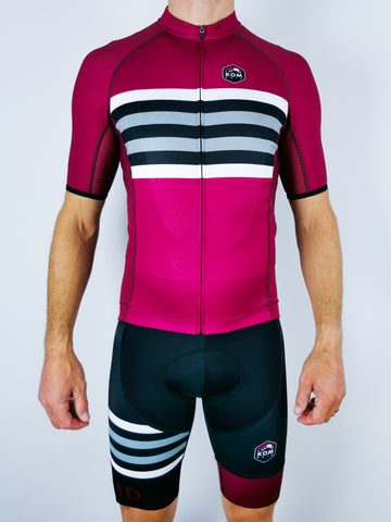 Merlin 'Raspberry' Race Jersey