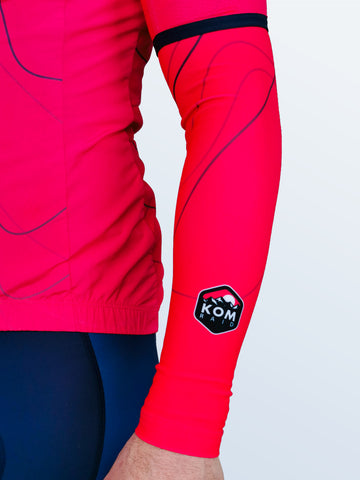Cancano 'Tramonto' Pink Switch Arm Warmers