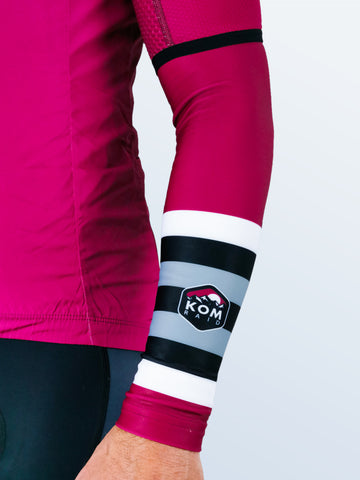 Merlin 'Raspberry' Arm Warmers