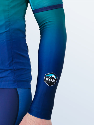 Quantum 'Ocean' Arm Warmers