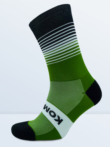 Swagger Socks - Olive Green & Black