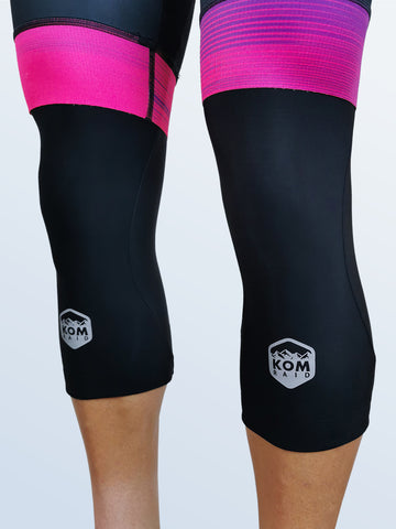 X-1 Knee Warmers Black