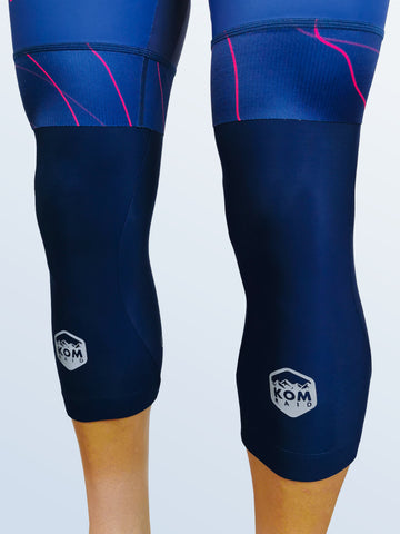 X-1 Knee Warmers Blue