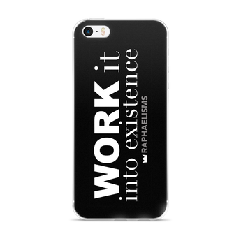 RAPHAELISMS: Work iPhone 5/5s/Se, 6/6s, 6/6s Plus Case
