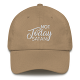 NOT TODAY SATAN Dad/Mom Hat