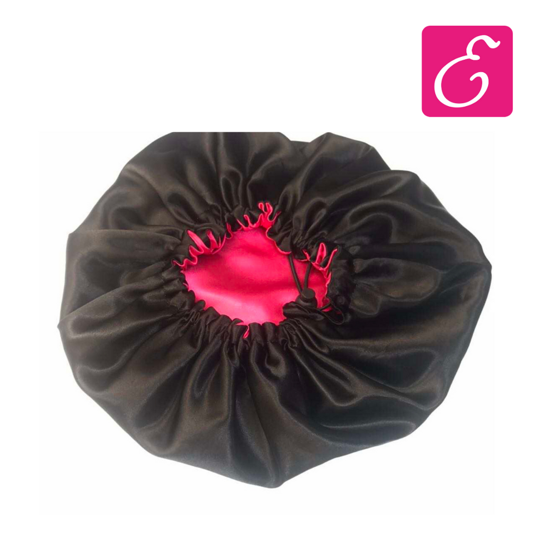 Adjustable & Reversible Satin Bonnet - ExtenCity Hair