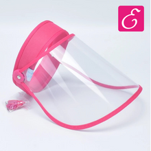 Load image into Gallery viewer, Pink Protective Face Shield - ExtenCity Hair