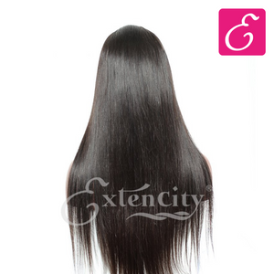 Silky Straight Glueless Lace Wig - ExtenCity Hair