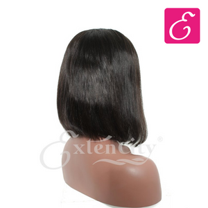 Straight Bob Glueless Lace Wig - ExtenCity Hair