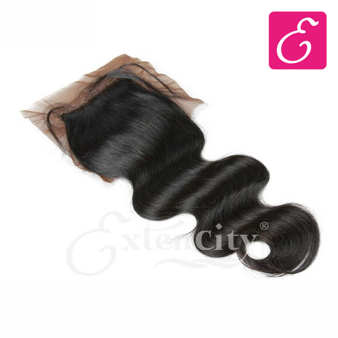 4x4 Body Wave Freestyle Part Closure - ExtenCity Hair