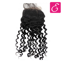 Load image into Gallery viewer, 4x4 Deep Wave Freestyle Part Closure - ExtenCity Hair