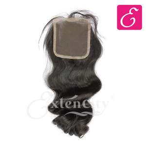 4x4 Loose Wave Freestyle Part Closure - ExtenCity Hair