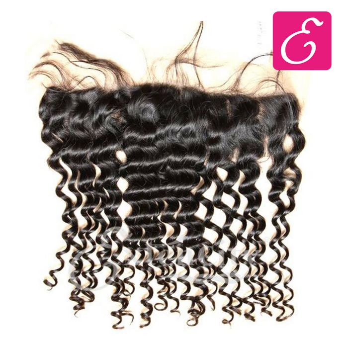 13x4 Deep Wave Lace Frontal - ExtenCity Hair