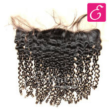 Load image into Gallery viewer, 13x4 Curly Lace Frontal - ExtenCity Hair