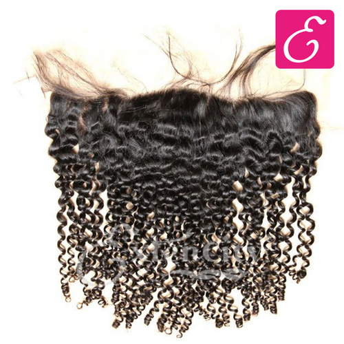 13x4 Curly Lace Frontal - ExtenCity Hair