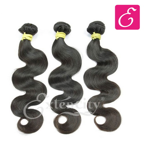 Natural Black (1b) Body Wave Bundle Deal - ExtenCity Hair