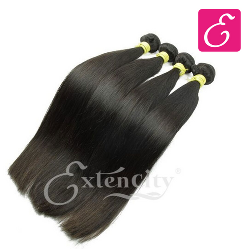 Silky Straight Bundles - ExtenCity Hair