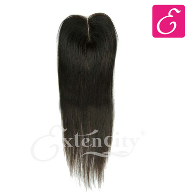 4x4 Straight Middle Part Closure - ExtenCity Hair