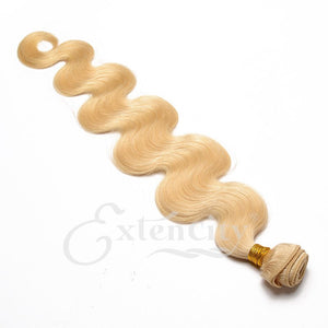 Blonde (613) Body Wave Hair Weft - ExtenCity Hair
