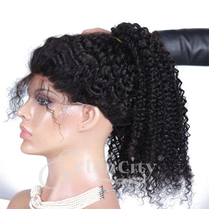 Kinky Curly Glueless Lace Wig - ExtenCity Hair