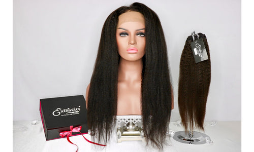 Premium Kinky Straight Unit - ExtenCity Hair