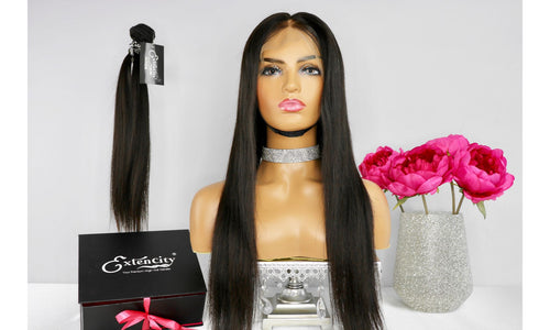 Premium Silky Straight Unit - ExtenCity Hair
