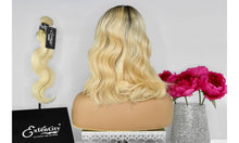 Load image into Gallery viewer, Premium Blonde (T3/613) Wavy Bob Unit - ExtenCity Hair