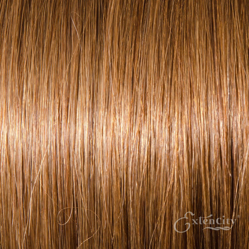 Medium Golden Brown (#10) Human Hair 10 Piece Clip-ins - ExtenCity Hair