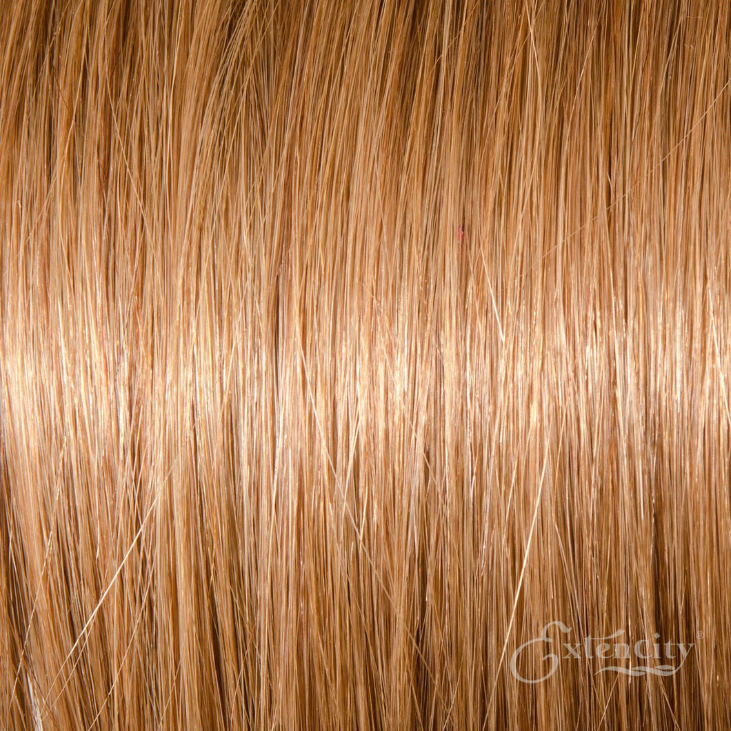 Light Golden Brown (#12) Human Hair 10 Piece Clip-ins - ExtenCity Hair