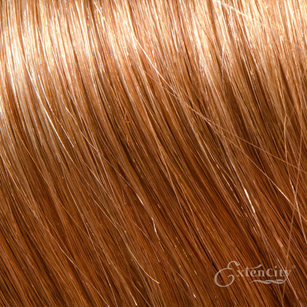 Medium Ash Blonde (#14) Human Hair 10 Piece Clip-ins - ExtenCity Hair