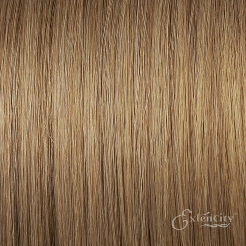 Ash Blonde (#18) Human Hair 10 Piece Clip-ins - ExtenCity Hair