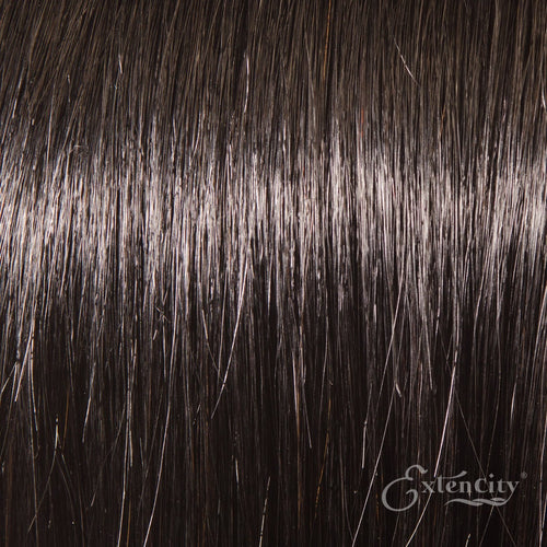 Natural Black (#1b) 10 Piece Clip-ins - ExtenCity Hair