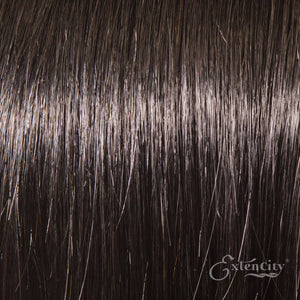 #1b Natural Black 10 Piece Clip-ins - ExtenCity Hair