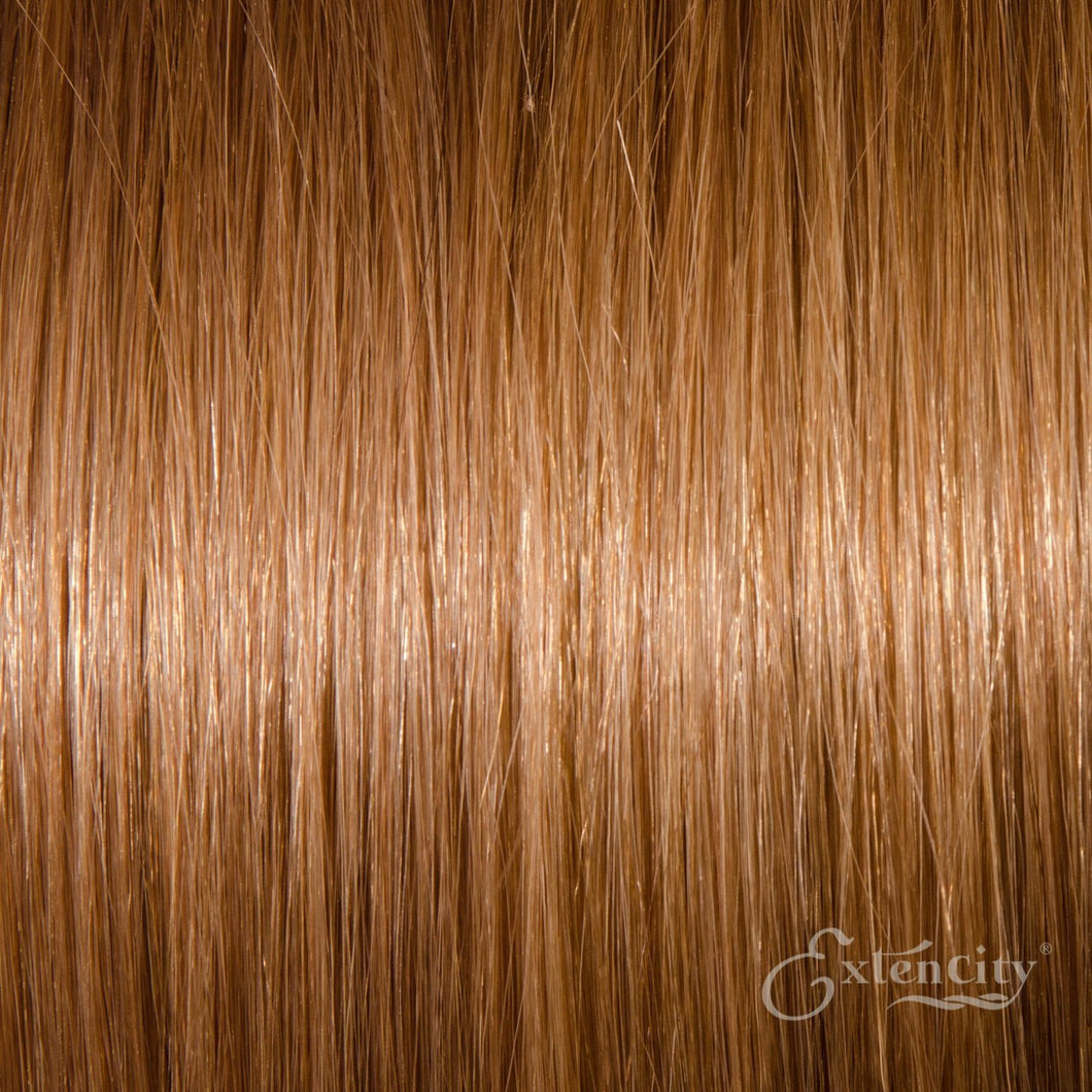 Strawberry Blonde/Honey Blonde (#27) Human Hair 10 Piece Clip-ins - ExtenCity Hair