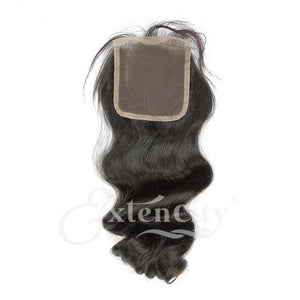 4x4 Body Wave Middle Part Closure - ExtenCity Hair