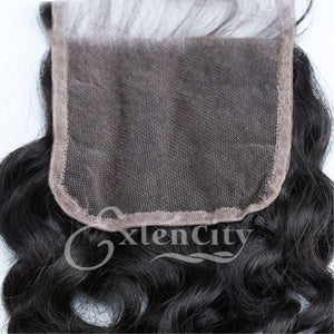 4x4 Jerry Curl Freestyle Part Closure - ExtenCity Hair
