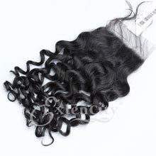 Load image into Gallery viewer, 4x4 Jerry Curl Freestyle Part Closure - ExtenCity Hair
