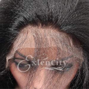 Kinky Straight Glueless Lace Wig - ExtenCity Hair