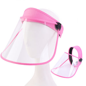 Pink Protective Face Shield - ExtenCity Hair
