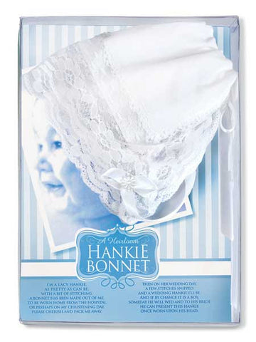 Heirloom Hankie Bonnet