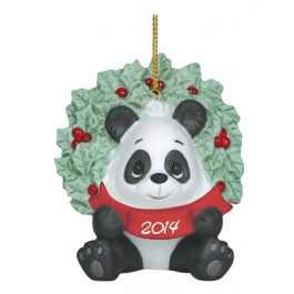 Precious Moments 2014 Annual animal ornament